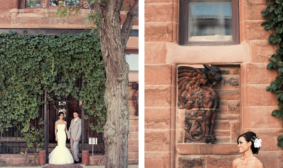 Iwen Exposures photographs weddings at Old Market Wedding Venues in Omaha, Nebraska.