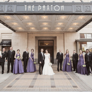 Paxton Ballroom wedding reception - Omaha Wedding Venues